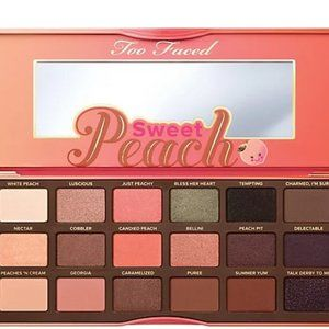 Too Faced Sweet Peach Eyeshadow Collection NIB